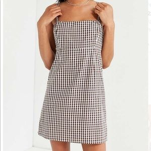 size 6 urban outfitters gingham dress